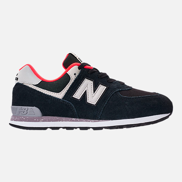 Right view of Boys' Preschool New Balance 574 Casual Running Shoes