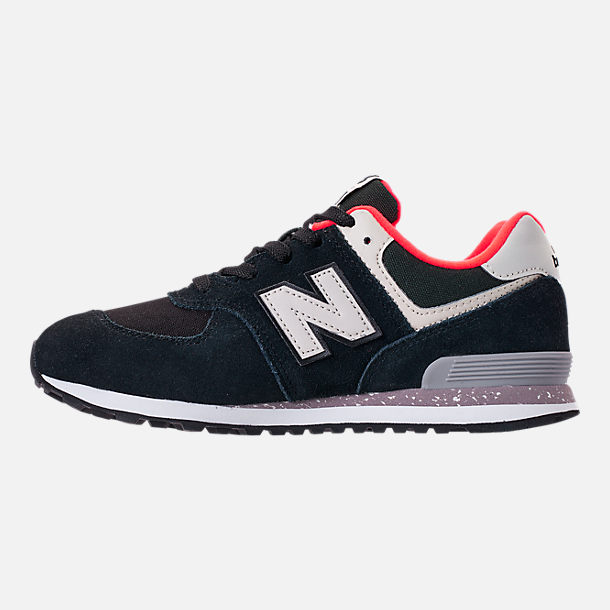 Left view of Boys' Little Kids' New Balance 574 Casual Shoes
