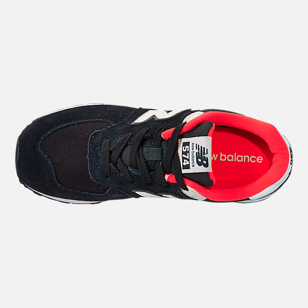 Top view of Boys' Preschool New Balance 574 Casual Running Shoes
