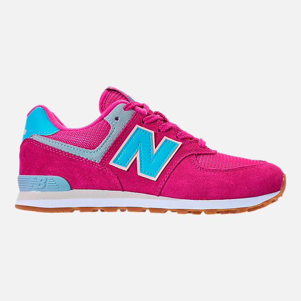 Right view of Girls' Preschool New Balance 574 Casual Shoes