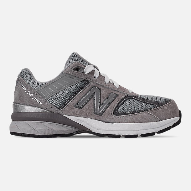 533bf7ce84d Right view of Boys  Little Kids  New Balance 990 V5 Casual Shoes in Grey