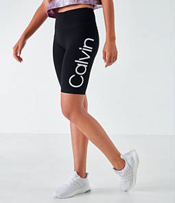 Women's Calvin Klein Logo Bike Shorts