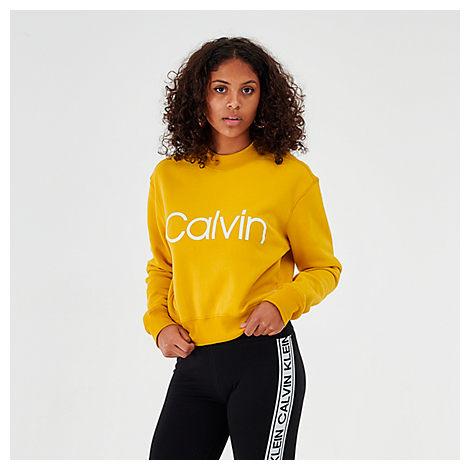 Calvin Klein T-shirts CALVIN KLEIN WOMEN'S MOCK PULLOVER SWEATSHIRT SIZE X-LARGE COTTON