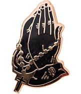 Pin God Rosary Enamel Pin