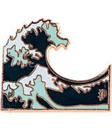Pin God Wave Polished Enamel Pin
