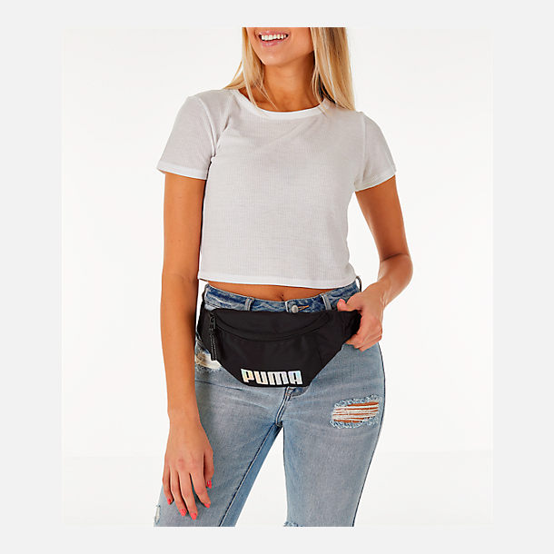 Alternate view of Women's Puma Forever Waist Pack in Black