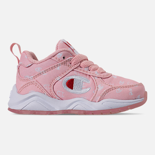 99a96b739 Right view of Girls  Toddler Champion 93Eighteen Queen C Casual Shoes in  Pink White