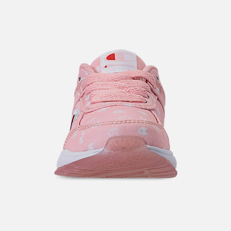 de7f3232966f78 Front view of Girls  Toddler Champion 93Eighteen Queen C Casual Shoes in  Pink White