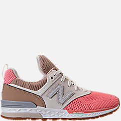 Girls' Preschool New Balance 574 Sport Casual Shoes