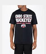 Men's J. America Ohio State Buckeyes College Block Wordmark T-Shirt