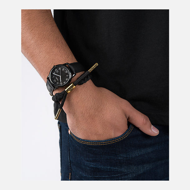 Alternate view of Rastaclat Classic Bracelet - Onyx II in Black/Gold