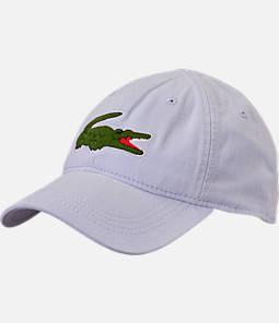 Lacoste Big Croc Gabardine Strapback Hat