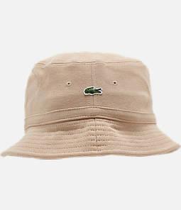 Men's Lacoste Cotton Pique Bucket Hat
