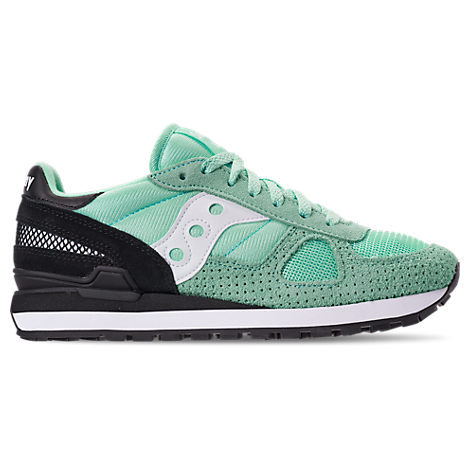 MEN'S SAUCONY SHADOW ORIGINAL CASUAL SHOES, GREEN