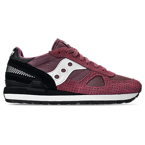 MEN'S SAUCONY SHADOW ORIGINAL CASUAL SHOES, RED