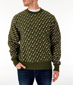 Men's Champion Reverse Weave Allover Print Crewneck Sweatshirt