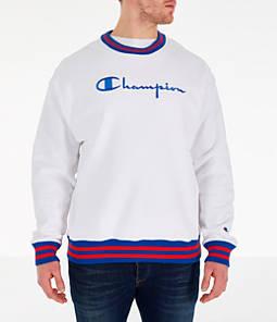 Men's Champion Yard Dyed Ribbed Crewneck Sweatshirt