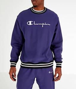 94ca471efa8d Champion Men s Champion Yard Dyed Ribbed Crewneck Sweatshirt