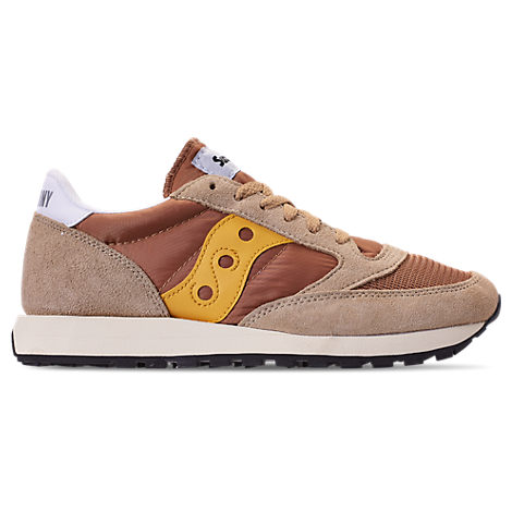 MEN'S SAUCONY JAZZ ORIGINAL VINTAGE CASUAL SHOES, BROWN