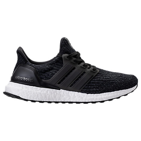 Adidas Women'S Ultra Boost Running Sneakers From Finish Line in Black/Black/Darkgrey