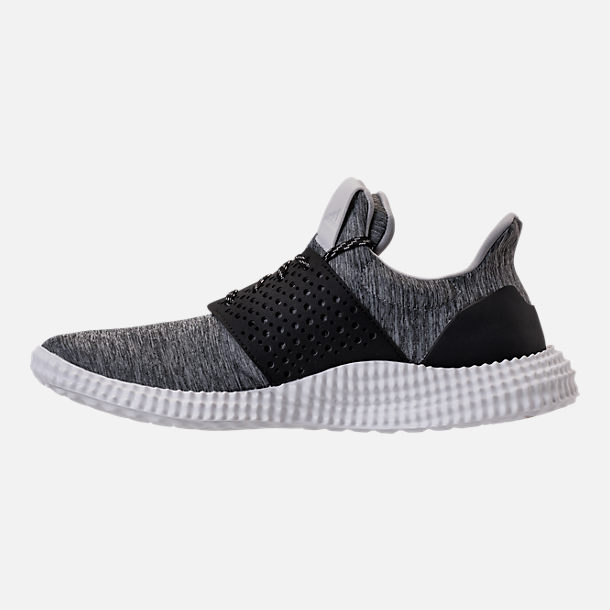 Left view of Men's adidas 24/7 Training Shoes in Dark Grey Heather/Crystal