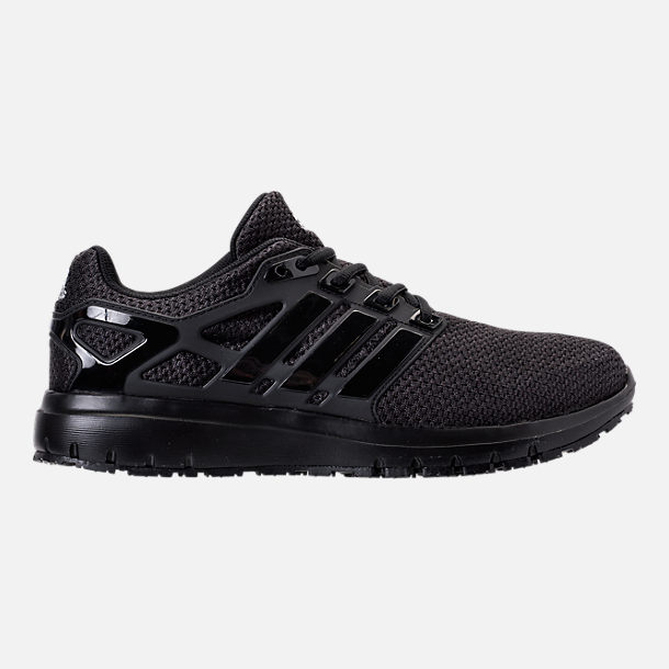 Right view of Men s adidas Energy Cloud Running Shoes in Core Black 3d58481af956b