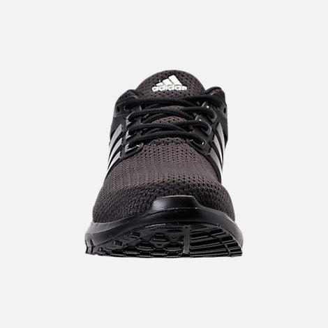 Front view of Men's adidas Energy Cloud Running Shoes in Core Black