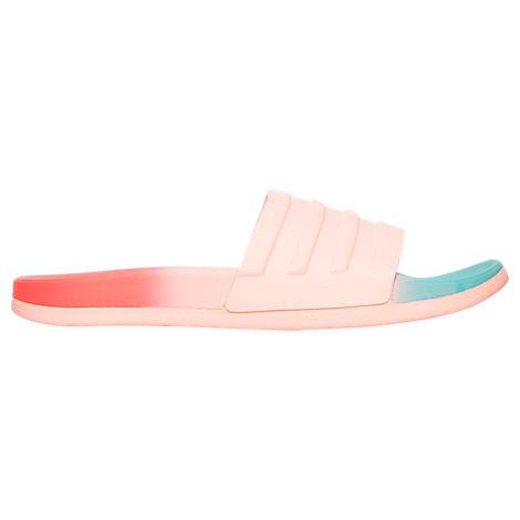 68ae0d31b3d1 Adidas Originals Women S Adilette Cloudfoam Fade Slide Sandals