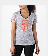Women's New Era San Francisco Giants MLB Space Dye T-Shirt