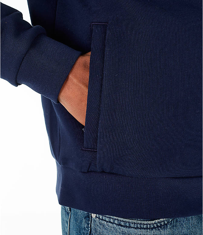 Detail 2 view of Men's Lacoste Tennis Hoodie in Navy