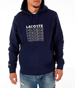 Men's Lacoste Allover Print Hoodie