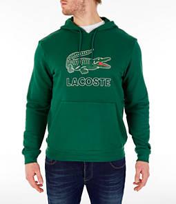 Men's Lacoste Big Croc Script Hoodie