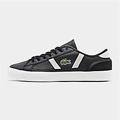 Men's Lacoste Sideline Leather and Suede Casual Shoes