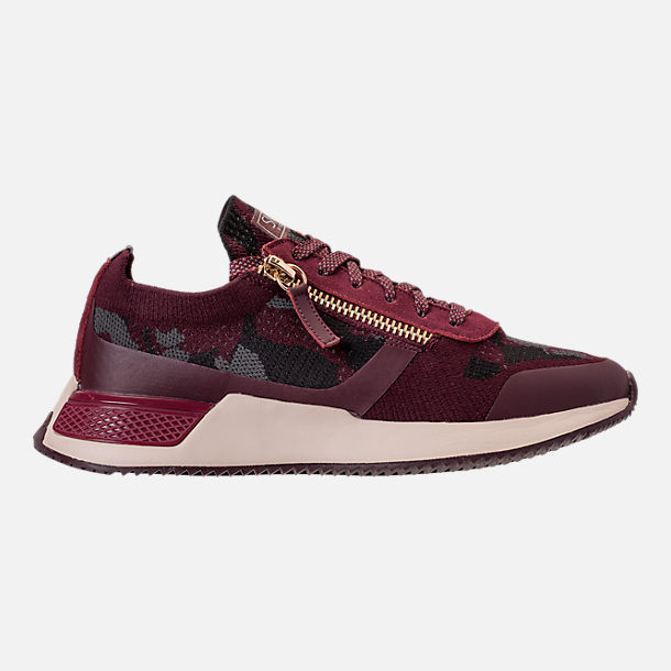 Right view of Men's SNKR Project Rodeo 2.0 Casual Shoes in Burgundy Camo/White
