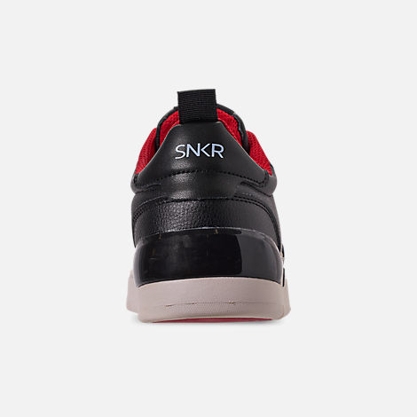Back view of Men's SNKR Project Lafayette Casual Shoes in Black/Antique White