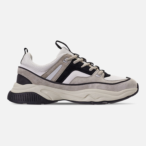 Right view of Men's SNKR Project Union Casual Shoes in Off White/Black