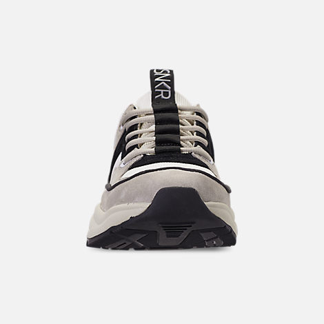 Front view of Men's SNKR Project Union Casual Shoes in Off White/Black