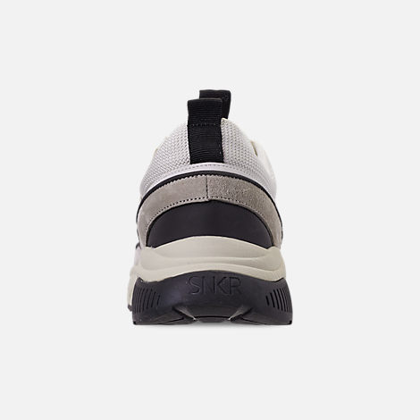 Back view of Men's SNKR Project Union Casual Shoes in Off White/Black