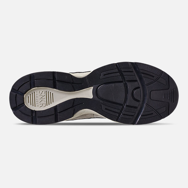Bottom view of Men's SNKR Project Union Casual Shoes in Off White/Black
