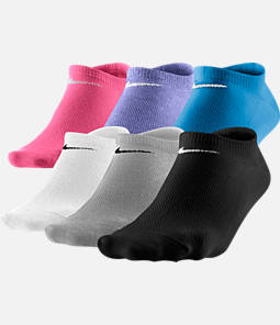 Women's Nike Lightweight No Show Socks 6-Pack Product Image