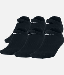 Kids' Nike Performance Cushion 6-Pack No-Show Socks - Size Large Product Image