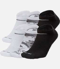 Unisex Nike Dry Cushioned 6-Pack No-Show Socks