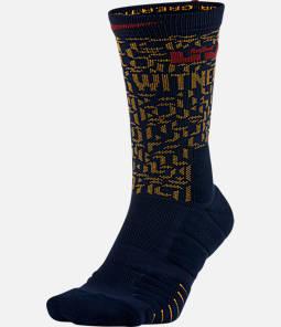 Unisex Nike LeBron Elite Quick Crew Basketball Socks