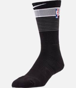 Unisex Nike San Antonio Spurs NBA City Edition Elite Crew Basketball Socks