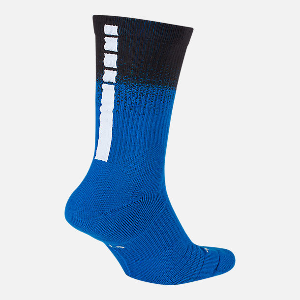 Back view of Unisex Nike Orlando Magic NBA City Edition Elite Crew Basketball Socks in Team Colors