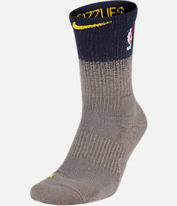 Unisex Nike Memphis Grizzlies NBA City Edition Elite Crew Basketball Socks