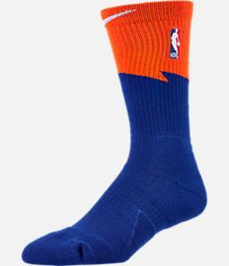 Unisex Nike Cleveland Cavaliers NBA City Edition Elite Crew Basketball Socks
