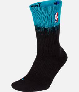 Unisex Nike Charlotte Hornets NBA City Edition Elite Crew Basketball Socks