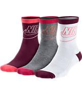 Women's Nike Sportswear Striped 3-Pack Crew Socks