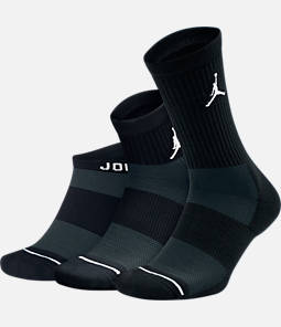 Unisex Jordan Waterfall 3-Pack Socks
